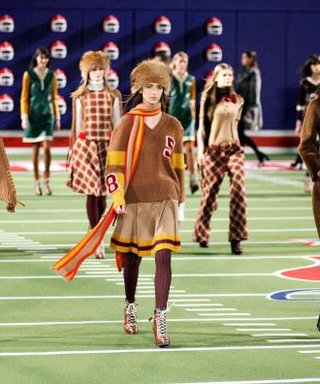Tommy Hilfiger's 30th Anniversary Runway Show Is a Football Fan's Dream