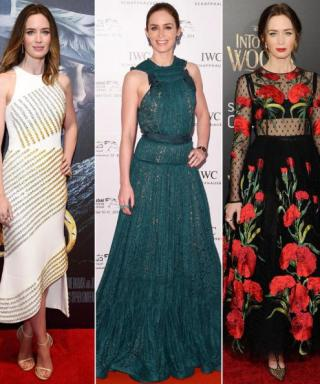 See Emily Blunt's Best Red Carpet Looks, from Michael Kors to Zac Posen