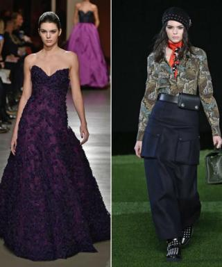 See the Many Personalities of Kendall Jenner On the Runway at #NYFW