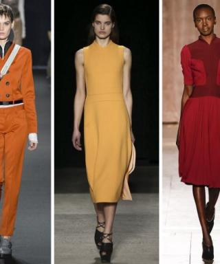 Shades of Orange Hit the Runways at New York Fashion Week