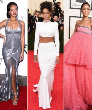See Rihanna's Best Red Carpet Looks in Honor of Her  27th Birthday