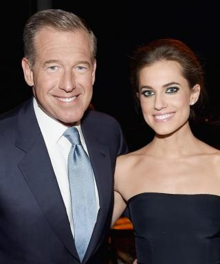 """Allison Williams On Dad Brian Williams: """"He's a Really Good Man"""""""