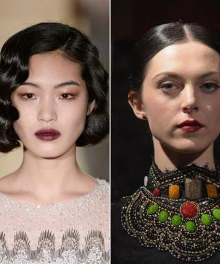 Fashion Week Beauty Trend: Deep, Vampy Lips Are Still the Statement for Fall