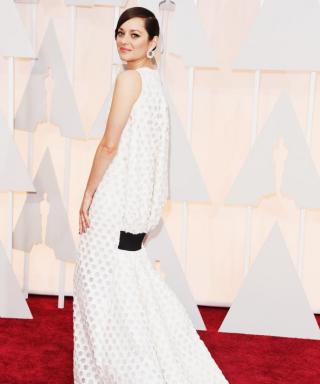 You Have to See Marion Cotillard's Incredible Oscars Dress from the Back