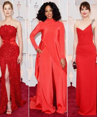 Our Favorite Siren Shade Makes a Statement On the Oscars Red Carpet