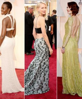 Party In the Back: 2015 Oscars Dresses That Look Even Better From Behind
