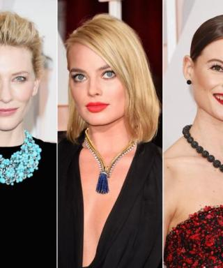 Stunning Statement Necklaces Hit the Oscars 2015 Red Carpet