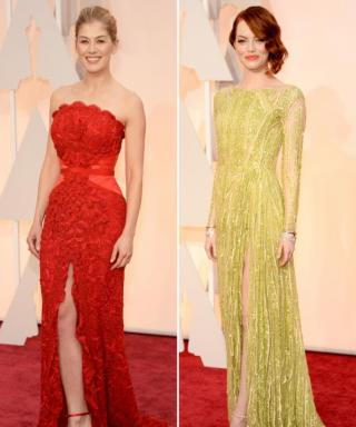 Match Your Shoes to Your Dress à la Emma Stone and Rosamund Pike