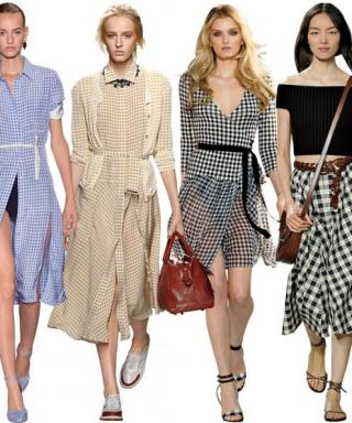 How to Look Glam in Gingham