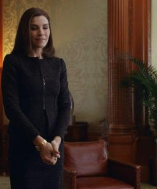 The Good Wife Work Outfit Inspo of the Week: Kill It in a Knit Suit