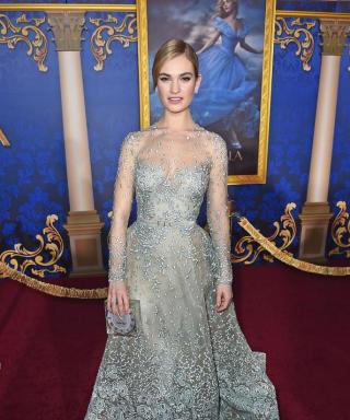 All the Times Lily James Looked Just Like Cinderella