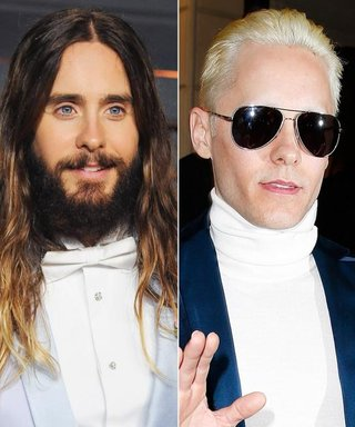 Move Over, Kim Kardashian! Jared Leto Also Debuts Platinum Hair at Balmain