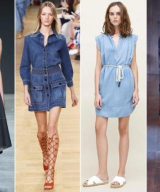 Meet Our Favorite LDDs (Little Denim Dresses) for Spring
