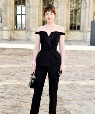 Dakota Johnson Makes Her Paris Fashion Week Debut, Plus More Stars Front Row