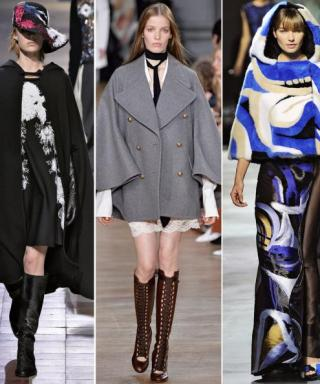 Paris Fashion Week Trend: Capes Are the New Jackets