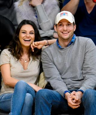 See Mila Kunis and Ashton Kutcher's Adorable Lederhosen Costumes