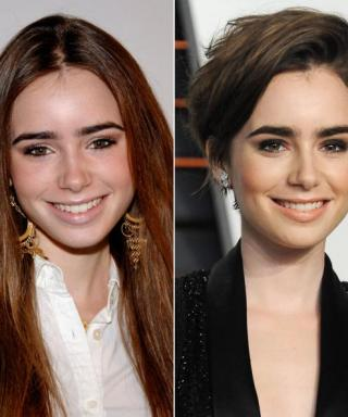 We'll Never Tire of Admiring Birthday Girl Lily Collins's Standout Hairdos