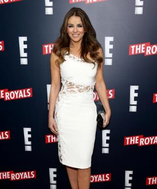 Did Elizabeth Hurley Channel Queen Elizabeth for Her Role in The Royals?