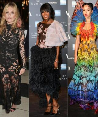 This Week's Wow: Stars Honor Alexander McQueen in His Iconic Designs