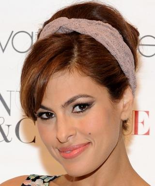 Eva Mendes Joins Instagram with the Most Adorable #TBT Photo