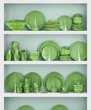Lettuce Celebrate! Tory Burch Relaunches Dodie Thayer's Iconic Dinnerware