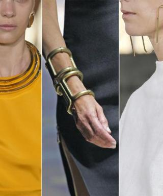 Math + Fashion = Genius! Shop These Geometric Jewelry Picks Inspired by the Runways