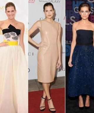 The Girls Finale Is Sunday! See Allison Williams's Best Red Carpet Looks Ever