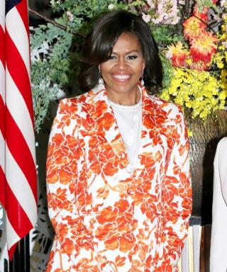 Michelle Obama Is In Bloom In Her Latest Japan Look