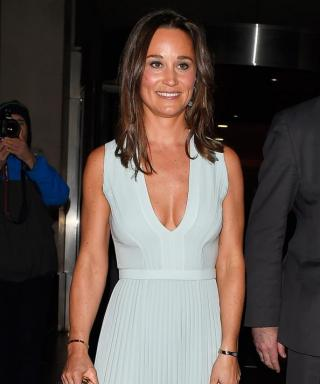 Pippa Middleton Wows in a Gorgeous Ice Blue Gown