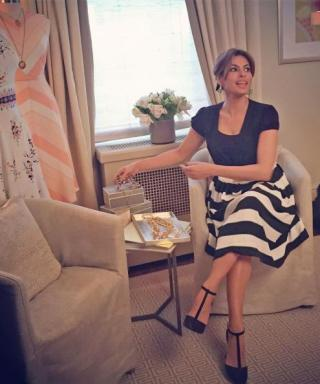 Eva Mendes Took Over Our Instagram Yesterday! Check Out All Her Stylish Snaps Here