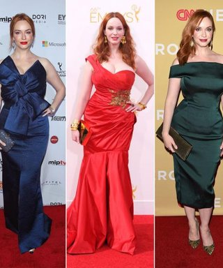 Christina Hendricks Tells Us Her Favorite Red Carpet Look of All Time