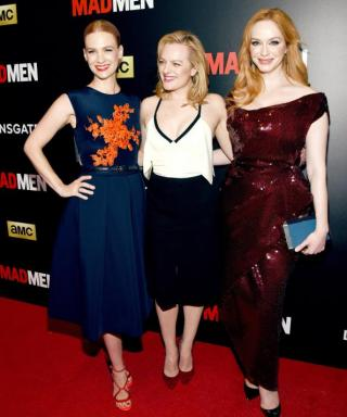 The Women of Mad Men Channel Their Characters on the Red Carpet
