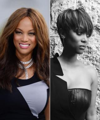 Tyra Banks Chops Her Hair Into a Pixie