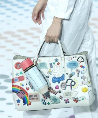 Personalize Your Bag with Anya Hindmarch's Super Happy Stickers