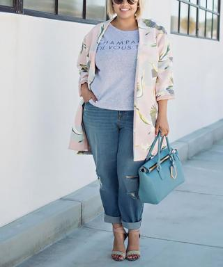 6 Amazing Spring Jackets for Full Figures