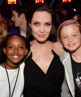 Angelina Jolie Shares an Adorable Mother-Daughter Moment at the Kids' Choice Awards
