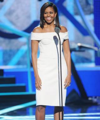Michelle Obama Wows in Zac Posen (and Gives an Inspiring Speech) at BET's Black Girls Rock! Event