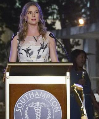 Revenge Recap: The Details on Emily's Floral Dress at the Dramatic Reveal