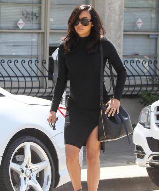 Naya Rivera Amps Ups Her Maternity Style in Another Body-Hugging Dress