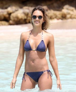 Jessica Alba Continues Her Spring Break Adventures in Another Bikini