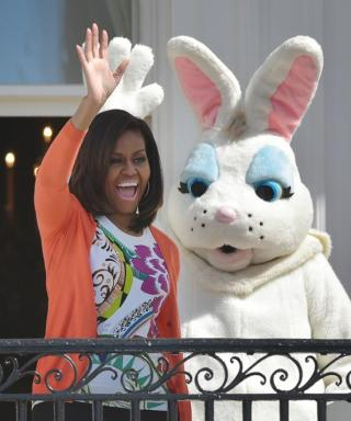 Michelle Obama Stands Out in a Festive Ensemble at the White House Easter Egg Roll