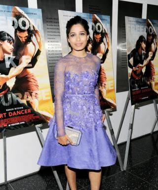 Freida Pinto Endured Intense Training for Her New Film, Desert Dancer