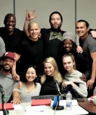 See the First Cast Photo from the Suicide Squad Movie