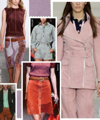 Shop the Trend: Colorful Suede for Spring