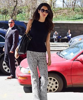 Amal Clooney Shows Us the Right Way to Wear '70s-Inspired Pants