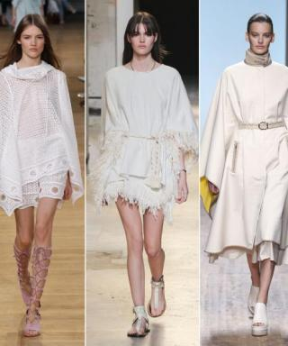Good News: The Poncho Is Now a Year-Round Staple