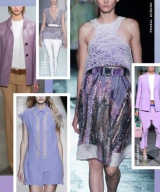 Shop the Trend: Spring's Edgy Take on Lavender