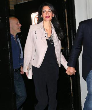 Amal Clooney Channels Her Inner Rockstar for Date Night