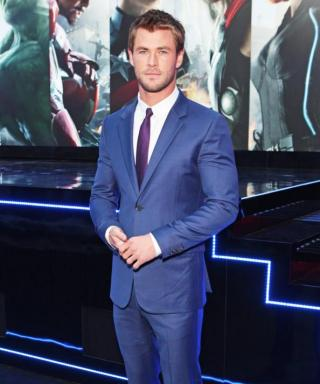 Your Daily Dose of Eye Candy: Chris Hemsworth Looking Hot at the Avengers: Age of Ultron Premiere
