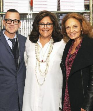 Fern Mallis Shares a Startling Fashion Fact About Jackie O. During Her Book Launch